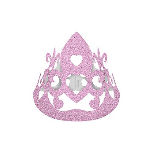 Regina Chapeu C/ Coroa R271 Princesas Amigas - Pacote De 8 unidades