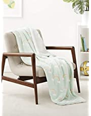 Amazon Basics Soft Micromink Sherpa Throw Blanket