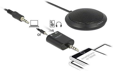 DeLOCK Condensador Mesa Micrófono omnidireccional ektional para ...