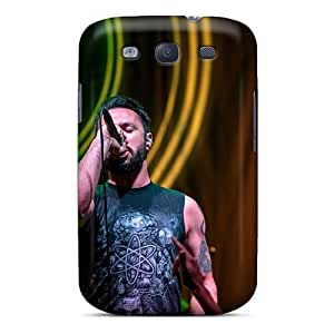 Scratch Resistant Hard Phone Cases For Samsung Galaxy S3 (BAN8793gakj) Unique Design Attractive Breaking Benjamin Pictures