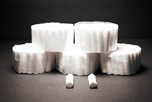 Winner 1402M: Cotton Rolls Med. #2: White in Color 250 Roll Pack