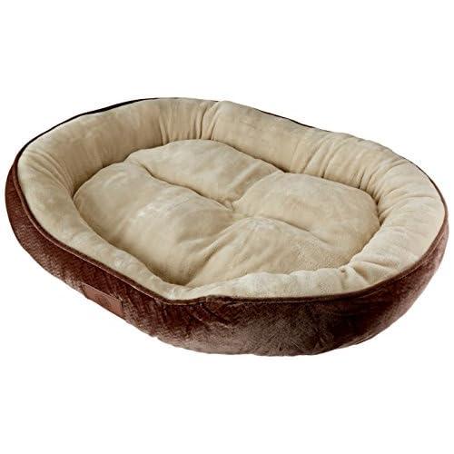 outlet AKC Embossed Solid Pet Cuddler Bed