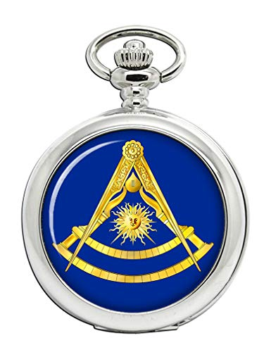 Masonic Lodge Past Master Full Hunter Pocket Watch ()