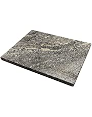 """Natural Stone Cutting Board, Serving Board, Cheese Board, Pastry Board, Chocolate Tempering, Dough Cool, Display of Appetizers (12"""" x 16"""")"""
