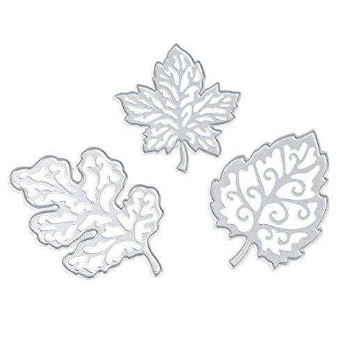 Willsa Metal Cutting Dies Stencil Template Mould for DIY Album Scrapbooking Paper Card Craft (J)