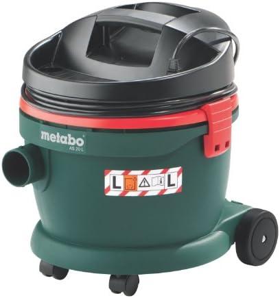 Metabo 6.02012.00 602012000-Aspirador para seco y húmedo AS 20 L ...