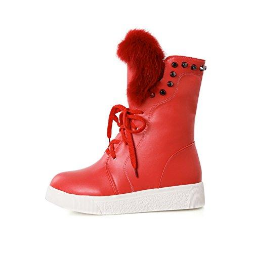 1TO9 Stivali da neve donna, Rosso (Red), 35
