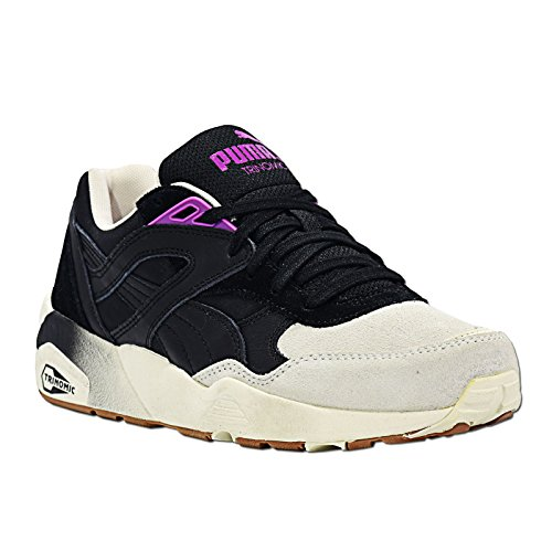 Puma - Blocks And Stripes W - Color: Crema-Nero - Size: 36.0