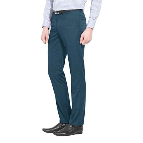 41utJYOHUdL. SS500  - AD & AV Mens Formal Trouser 220_BALENO_Black_CC