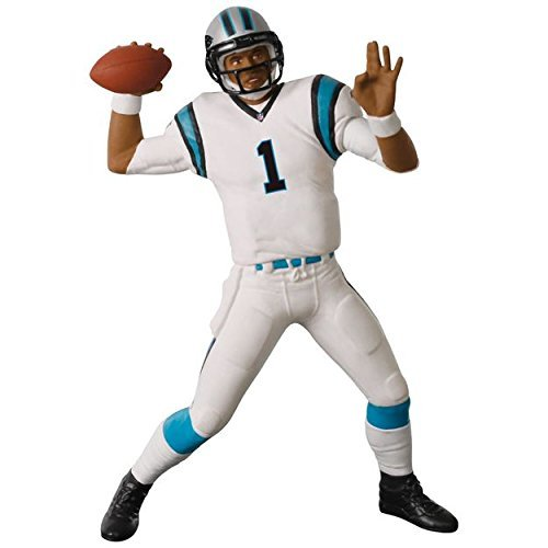 Hallmark Keepsake 2017 Football Legends Carolina Panthers Cam Newton Christmas Ornament