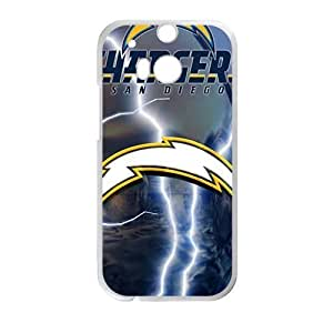 Happy San Diego Chargers Cell Phone Case for HTC One M8 by icecream design