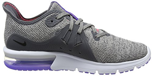 Donna NIKE Air Scarpe Grigio 013 Corsa 3 da Black Max Particle Moon Grey Dk Sequent 4U04Fw