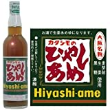 カタシモワインフード カタシモのひやしあめ 濃縮 550ml瓶×12本入