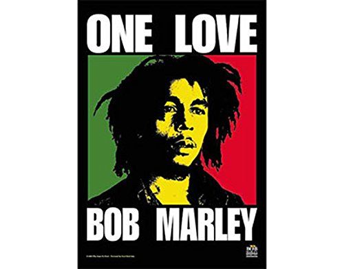 NNG Bob Marley - One Love - Textile Poster Flag
