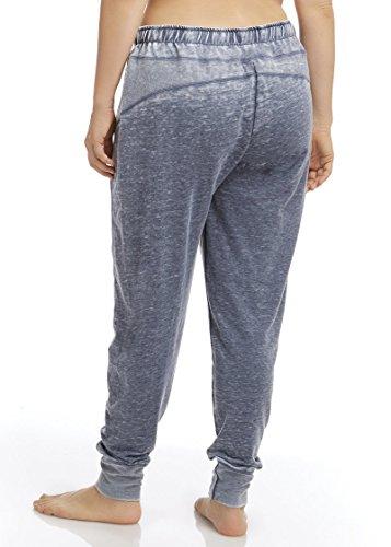 Marika Curves Women's Belmont French Terry Jogger Pants (Plus Size) 0X Plus Heathered Black Iris