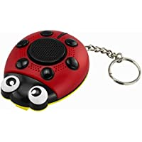 Color You 130dB Loud Siren Personal Security Alarm, Rape Attack Self-defense Alarm with Built-in Speaker, Strobe light, Wrist Strap, Keychain Pin Activation