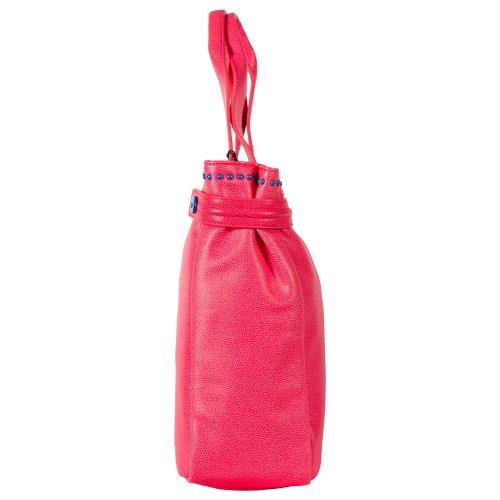 Armani Jeans Fluo Handbag V5242U4, colori vari I4 Fuxia