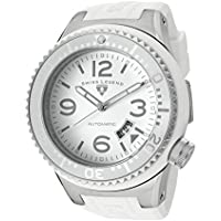 Swiss Legend Men's 11819A-02-WHT Neptune Automatic White Dial Silicone Watch