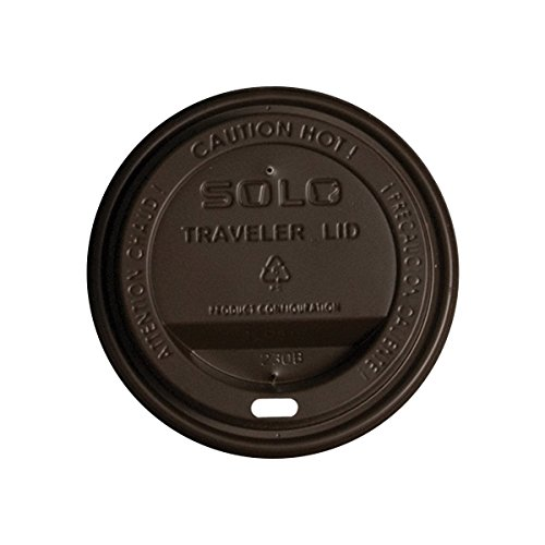SOLO TLN316-00013 Traveler Polystyrene Dome Lid for Hot Cup, 3.7