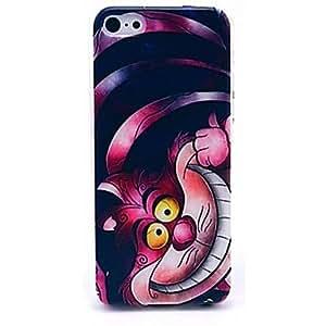 ZXM- rosa caso del patrón del gato sonriente para iphone 6