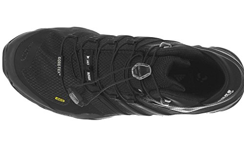 Adidas Herre Terrex Hurtigt R Mid Gtx Trekking- & Wanderstiefel Kerne Sort / Mørkegrå / Ftwr Hvid GWyuerE