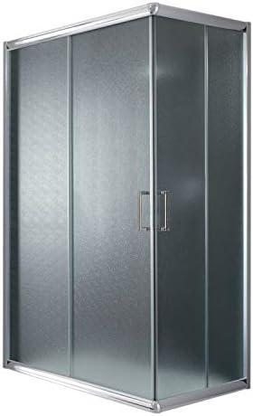 Idralite Box Ducha Rectangular 70 x 100 H185 Transparente 6 mm: Amazon.es: Bricolaje y herramientas