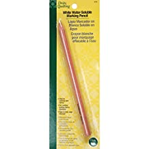 Dritz Quilting 3078 Tailor's Chalk Pencil, Brush Off, White
