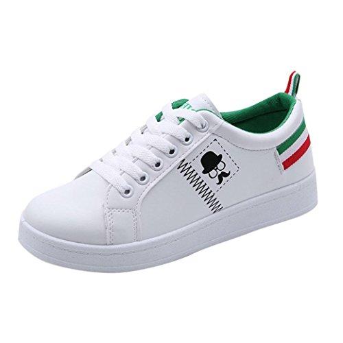 Verde Calzado Zapatos de Cómodos Zapatos Calzado Moda de de Zapatillas Planos PAOLIAN Mujer Senderismo Baratos Trabajo Espadrilles Escolares para Merceditas Dama Otoño Deporte Escolares XqHfg8