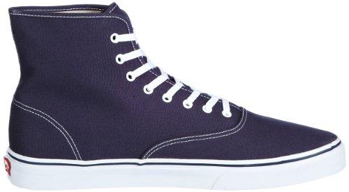Vans U Authentic Hi Navy/True White, Zapatillas Altas Unisex Adulto azul - Blau (Navy/True White)