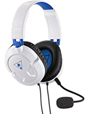 Turtle Beach Ear Force Recon 50P White Stereo Gaming Headset - PS4 and Xbox One (compatible w/Xbox One controller w/ 3.5mm headset jack)