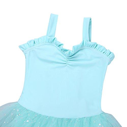 Sweetheart Kids Green Skirt TiaoBug Dress Tutu Light Little Leotard Girls' Costume Gymnastics Dance Ballet qw1gawp