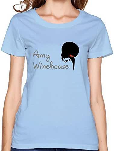 Women's Fashion Pre-cotton Amy Winehouse Tee-shirts