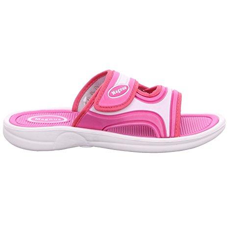 Schuhe Pantolette buyAzzo Gartenclogs Bade Pink Hausschuhe Praxis Damen BA023 Badeschuhe Arbeit Freizeit Pantoletten Sauna qwwaPfnE4