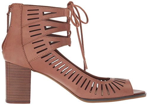 Bella Vita Women's Keaton Heeled Sandal Dark Tan QJr9Ot8CJ