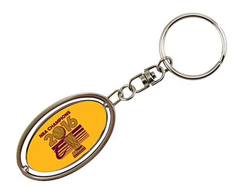 NBA Cleveland Cavaliers 2016 Champions Metal Spinner Key Chain
