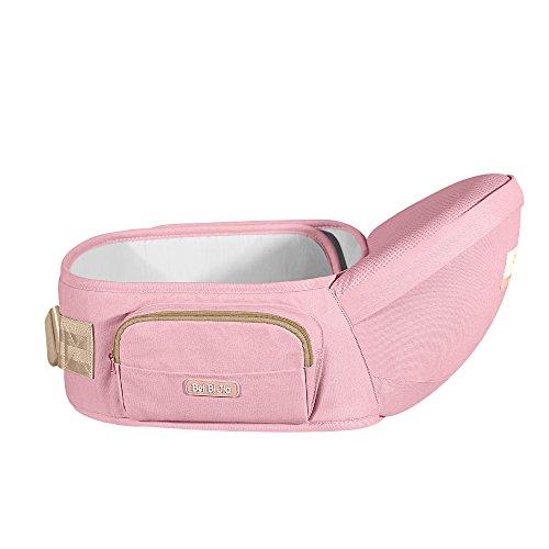 Beibijia Ergonomic Baby Hip seat Carrier, Sling Side Carrier Waist Belt Stool for (Soft Hip Hugger)