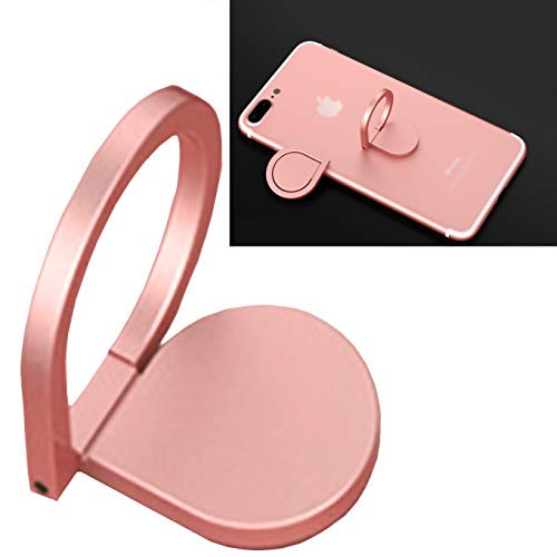 CaseHQ Rosegold Cell Phone Ring Holder, 360 Degree Rotation, Finger Grip Stand Holder Car Mount for iPhone X,XR XS MAX, 8/8 Plus 7/7plus ipad Tablet Samsung Galaxy s9 S9plus S8 Plus Edge Ring Holder (Cruz World Azul Cup)