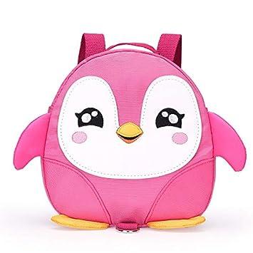 Kindergarten - Mochila Escolar Impermeable con diseño de pingüino para niños: Amazon.es: Hogar