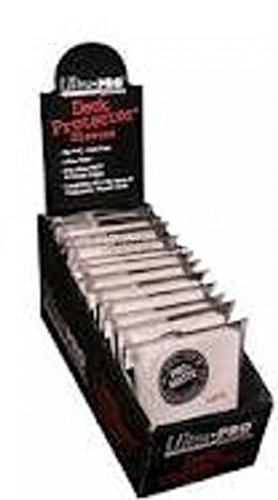 Ultra Pro PRO-MATTE (600 Count) White Deck Protector Sleeves - Magic the Gathering 12 Pack Box/Case