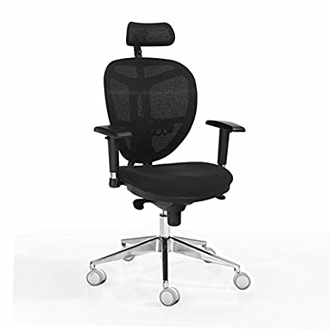 Sillas de oficina DILE OFFICE. Silla alta con cabecero Evolution.: Amazon.es: Hogar