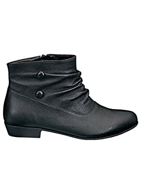 Low Slouch Boots, Black, Size 06 M