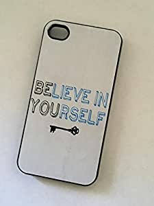 good case BELIEVE IN YOURSELF BE YOU cell phone case cover for iPhone 6 4.7 for kids 2A9QrvX8GAl BLACK Matte case cover