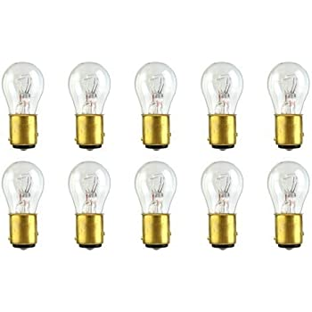 CEC Industries #1157 Bulbs, 12.8/14 V, 26.88/8.26 W, BAY15d Base, S-8 shape (Box of 10)
