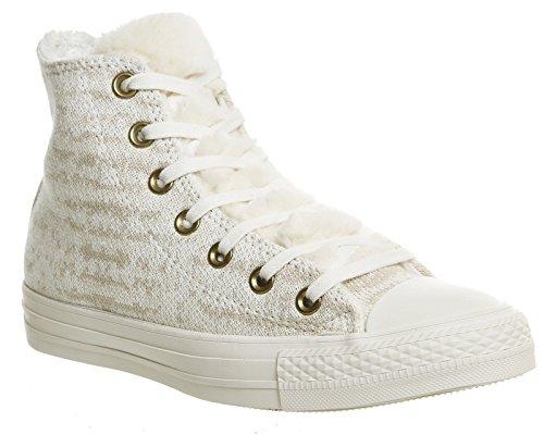 Converse Star Prem Hi Warhol, Sneakers Stringate Uomo Vaporous Grey White Knit