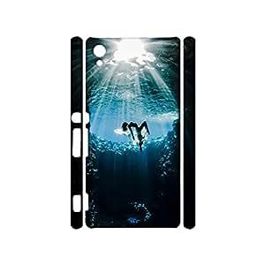 Universal 3D Hard Plastic Case Snap on Sony Xpenia Z5 Premium,Delicate Popular Underwater Photographs Printed Phone Case for Sony Xpenia Z5 Premium