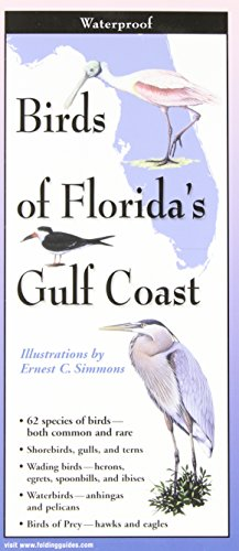 Southwest Florida Map - Birds of Florida's Gulf Coast: Folding Guide (Foldingguides)