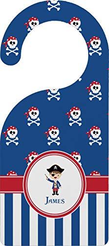 (YouCustomizeIt Blue Pirate Door Hanger (Personalized))