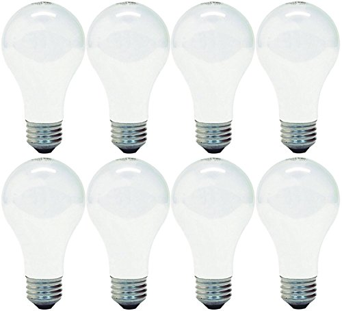 GE Lighting 41028 60-Watt A19, Soft White, 8 pack