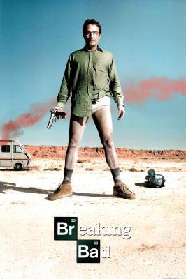 Breaking Bad Bryan Cranston TV Poster -