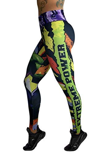 Hulk Superhero Leggings Yoga Pants Compression -